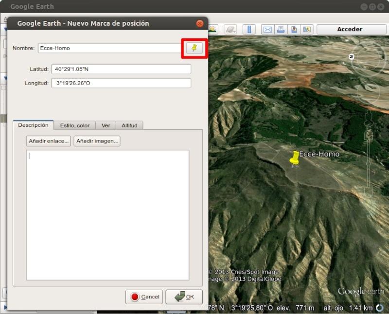 Tutorial: Usar los iconos waypoint de OruxMaps en Google Earth 111