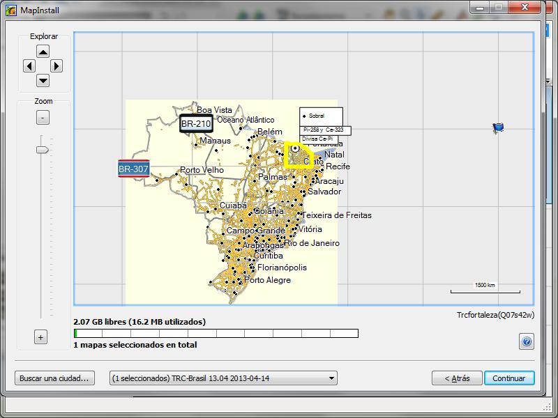 Usando OruxMaps sin un mapa 112