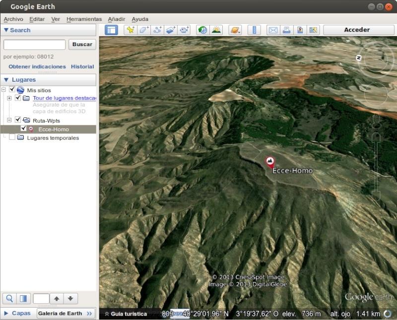 Tutorial: Usar los iconos waypoint de OruxMaps en Google Earth 610