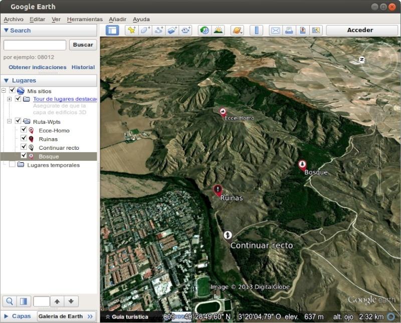 Tutorial: Usar los iconos waypoint de OruxMaps en Google Earth 710