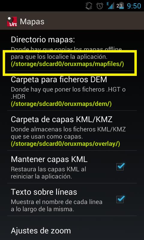 Almacenar mapas en la tarjeta SD? Screen12