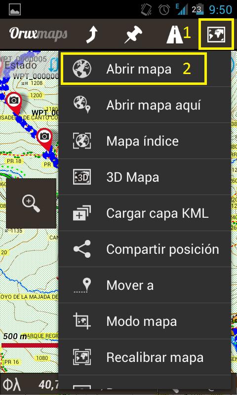 Almacenar mapas en la tarjeta SD? Screen13