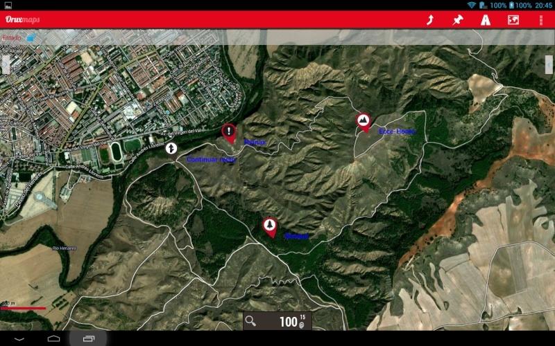 Tutorial: Usar los iconos waypoint de OruxMaps en Google Earth Screen14
