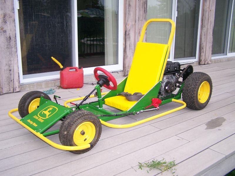 Homebuilt Go Kart Frontr11