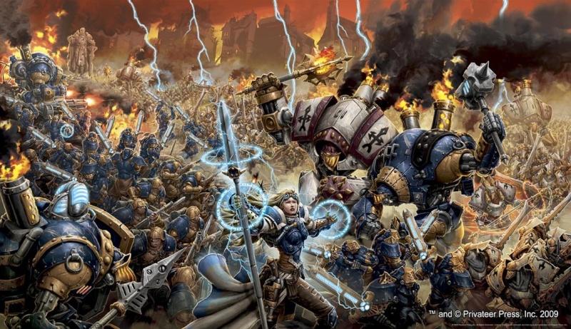 [Steampunk] Soldats Steampunk Warmac10