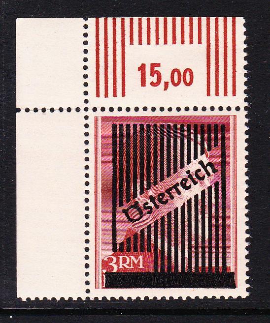 III. Wiener Aushilfsausgabe, Markwerte Unbena14