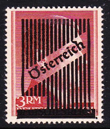 III. Wiener Aushilfsausgabe, Markwerte Unbena15