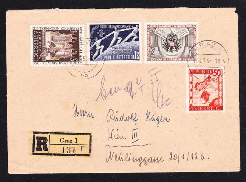 Sammlung Bedarfsbriefe Österreich ab 1945 - Seite 4 Unbena31