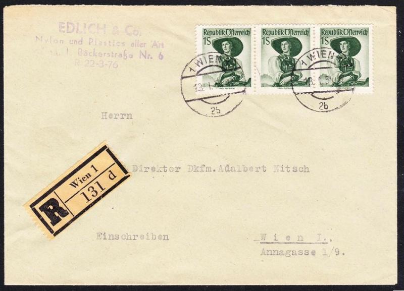 Trachtenserien ANK 887 - 923 und 1052 - 1072 Belege - Seite 5 Unbena32