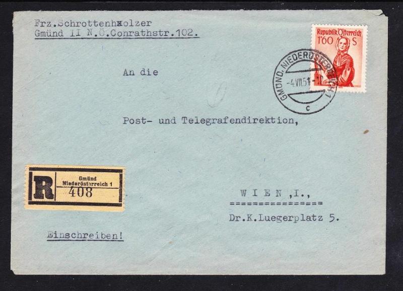 Trachtenserien ANK 887 - 923 und 1052 - 1072 Belege - Seite 6 Unbena33