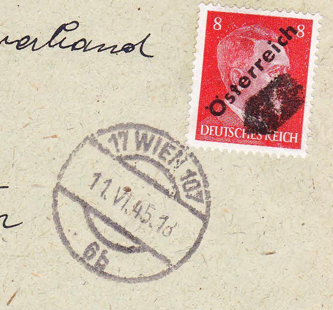 """""""Österreich im Juni 1945"""" Unbena35"""