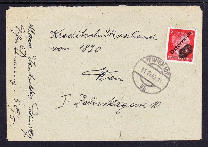 """""""Österreich im Juni 1945"""" Unbena36"""