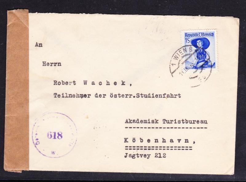 Trachtenserien ANK 887 - 923 und 1052 - 1072 Belege - Seite 6 Unbena54