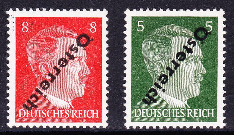 Briefmarken - I. Wiener Aushilfsausgabe, erste Ausgabe Unbena58