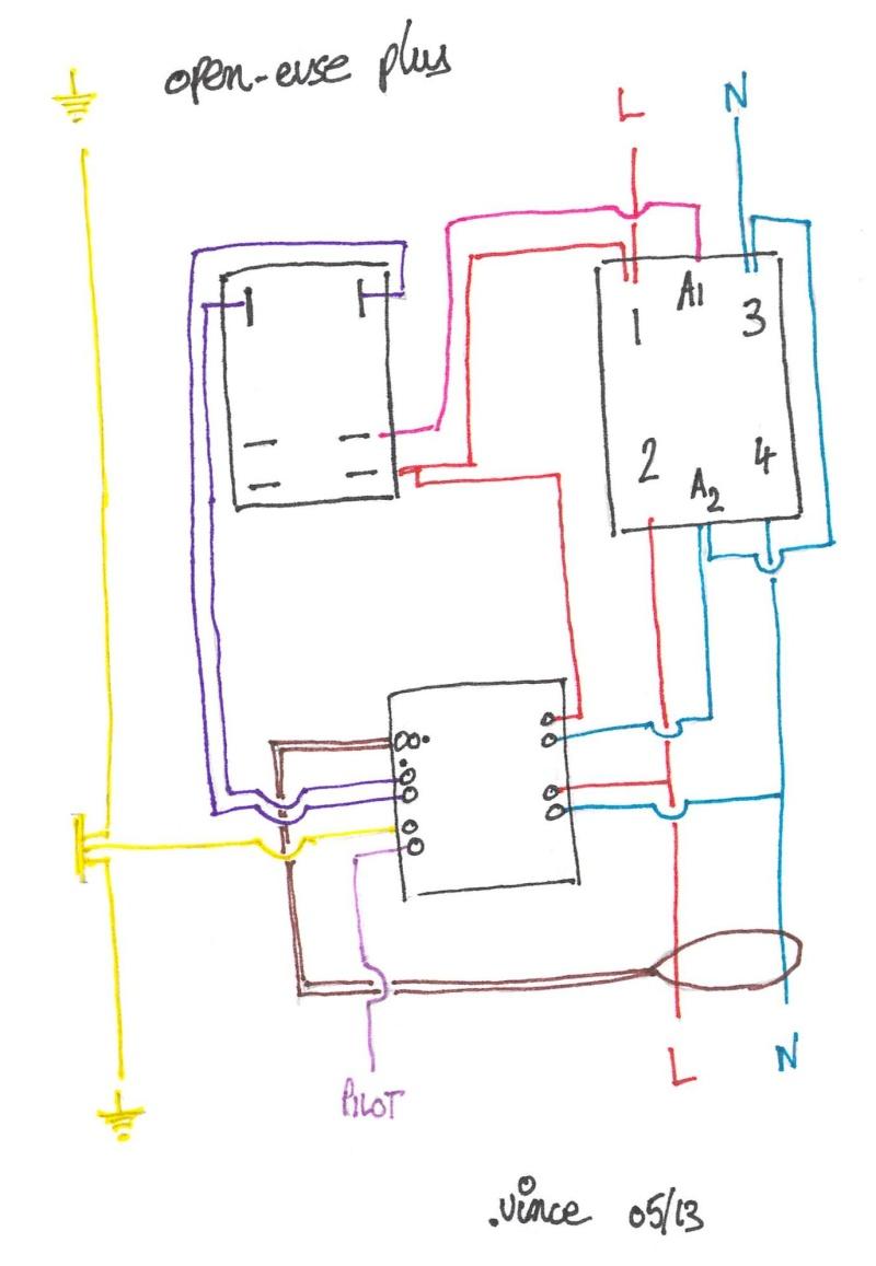 [open-evse].vince : Borne / Câble de recharge réglable 7kW -à faire soi-même- Openev10