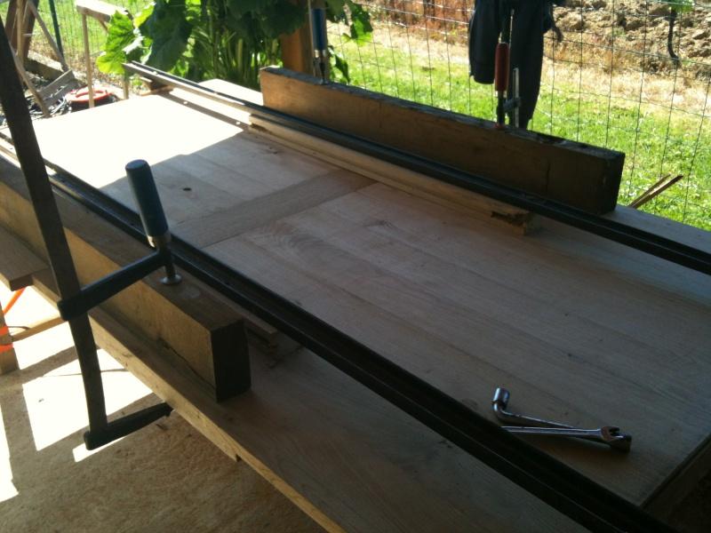 Restauration d'une table de ferme  Img_0612