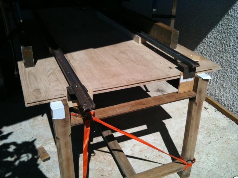 Restauration d'une table de ferme  Img_0613