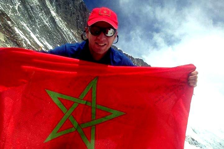 Le voyage extraordinaire du Drapeau Marocain: Hymalaya Mimoun15