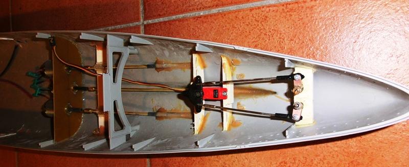 Bismarck 1:200 Trumpeter von Günter Cimg9537