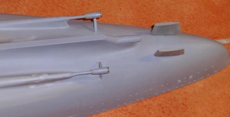 Bismarck 1:200 Trumpeter von Günter Cimg9538