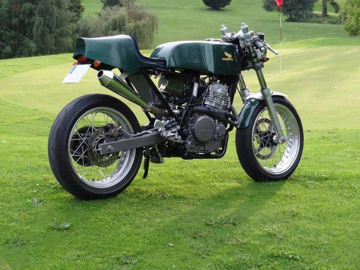600 DR => Cafe Racer Domina10