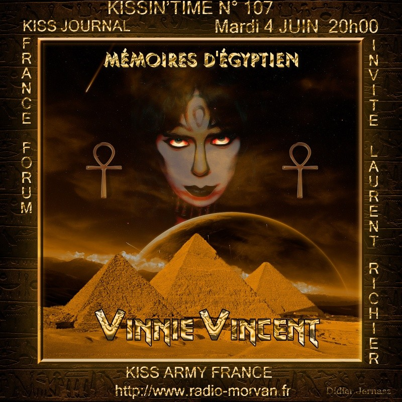Kissin'time n° 107.VV MÉMOIRES D'ÉGYPTIEN.  Fond_n10
