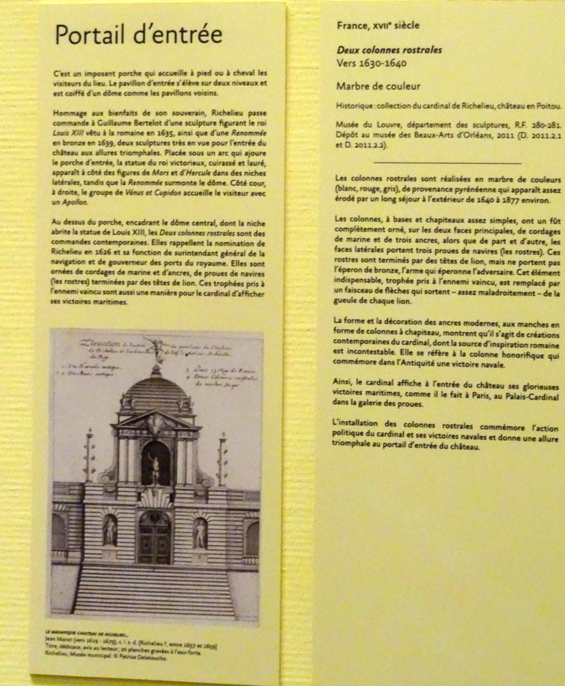 Exposition architecture et décors du château de Richelieu Dsc04625