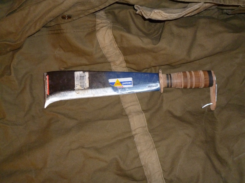 petite machette ou grand couteau de camp Serpe_11