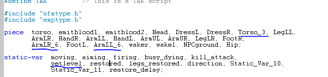 How to script veteran objects in Scriptor Pieces10