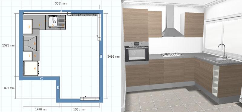 Etude et fabrication d'une cuisine de type Ikea Cuisin10