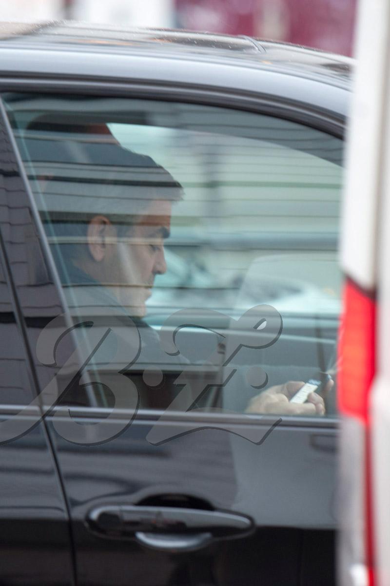 George Clooney back in Berlin 6/10/13 Cloone13