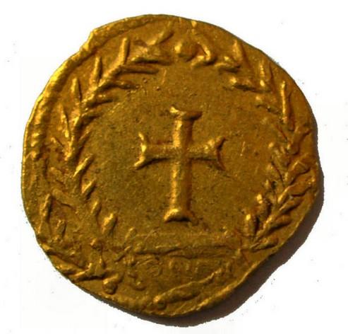 Trémissis de Romulus Augustus Rom310