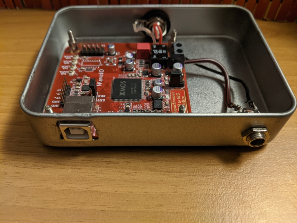 [MC] Vendo Interfaccia XMOS WaveIo Luckit USB -> Spdif o I2S: 80 ss incluse Pxl_2013