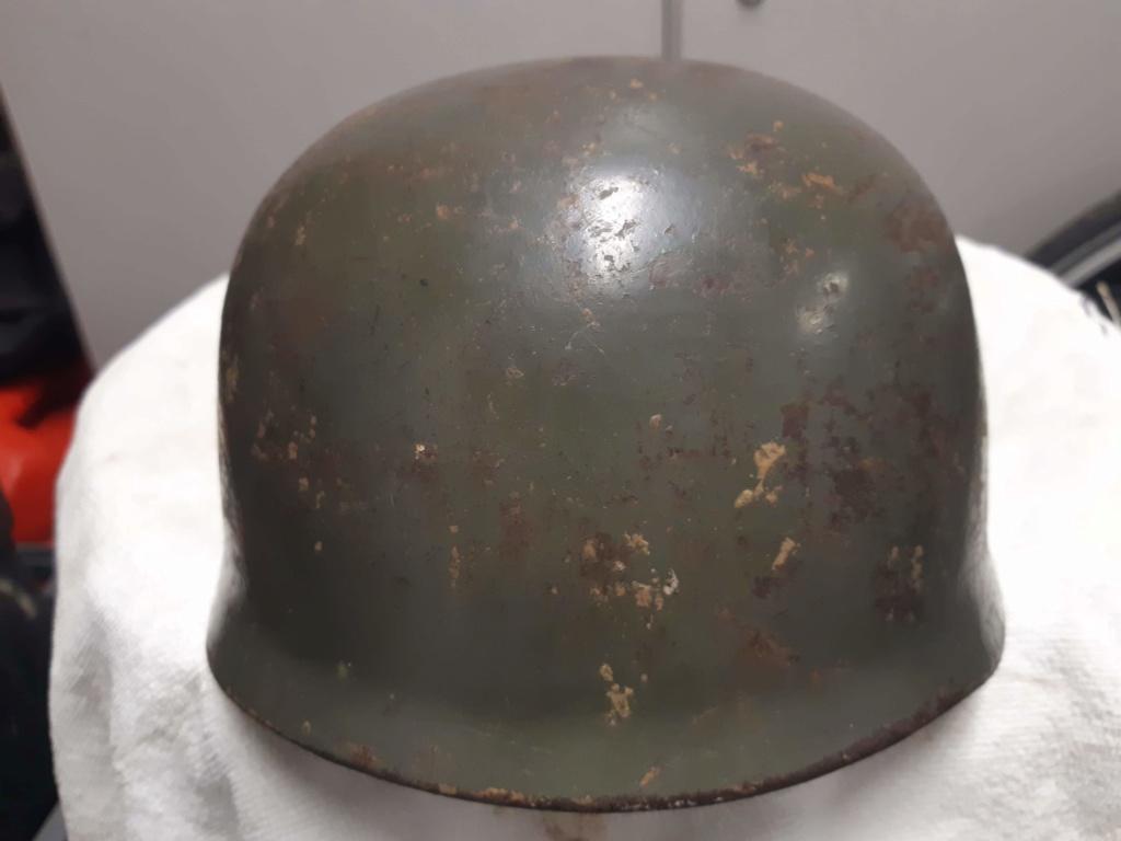 identification et authenticité casque para M38 Receiv11