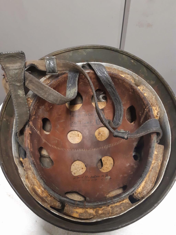 identification et authenticité casque para M38 Receiv17