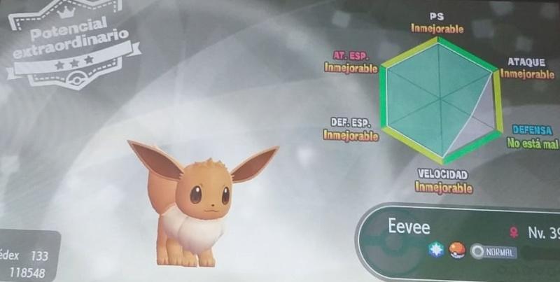 [Sorteo] Sorteo Eevee 5 IVs en Pokémon LGPE Whatsa10