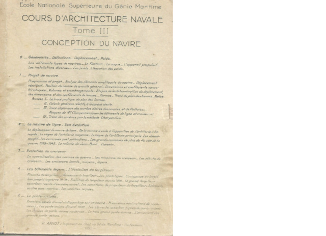 COURS D'ARCHITECTURE NAVALE VOLUME III Cours110