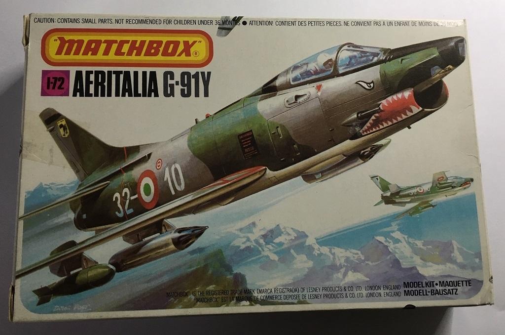 Aeritalia (FIAT) G-91 Y Matchbox G91y_r10
