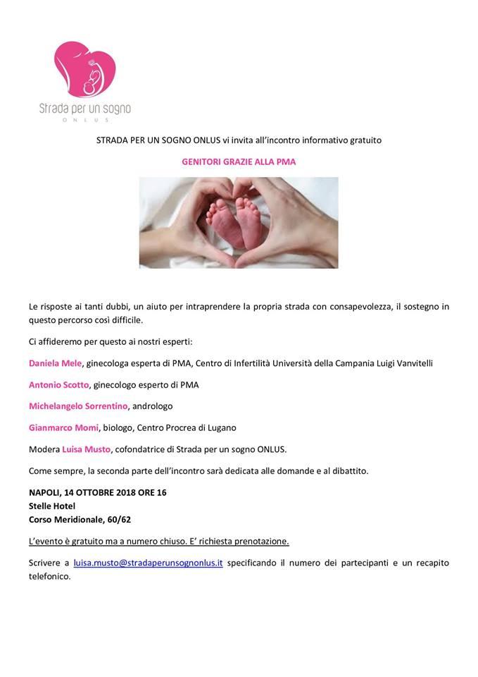 INCONTRO: Nuovo incontro onlus a Napoli - 14 Ottobre 2018  Napoli11