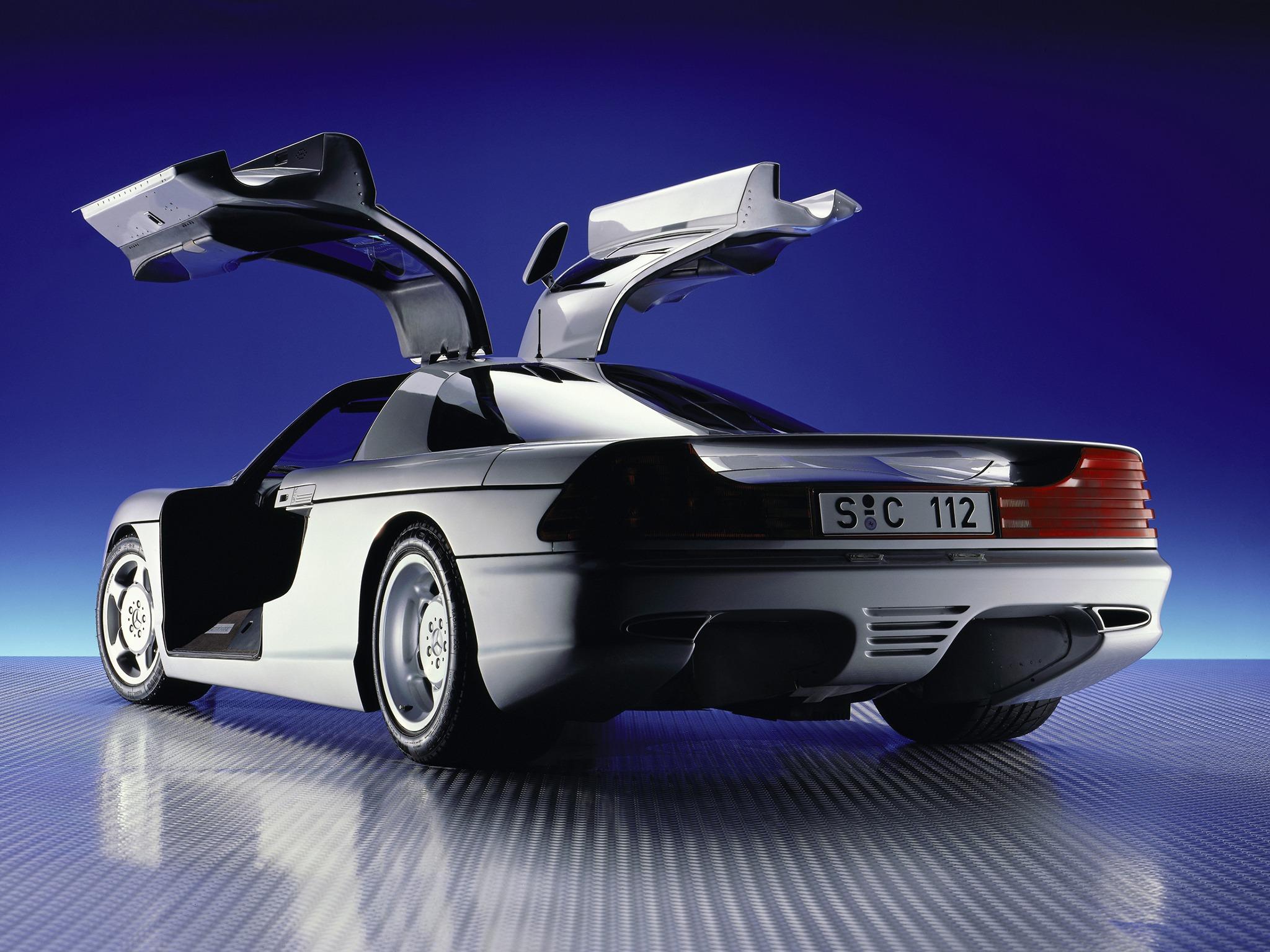 (CONCEITO): Mercedes-Benz C112 Concept 1991 0043a010