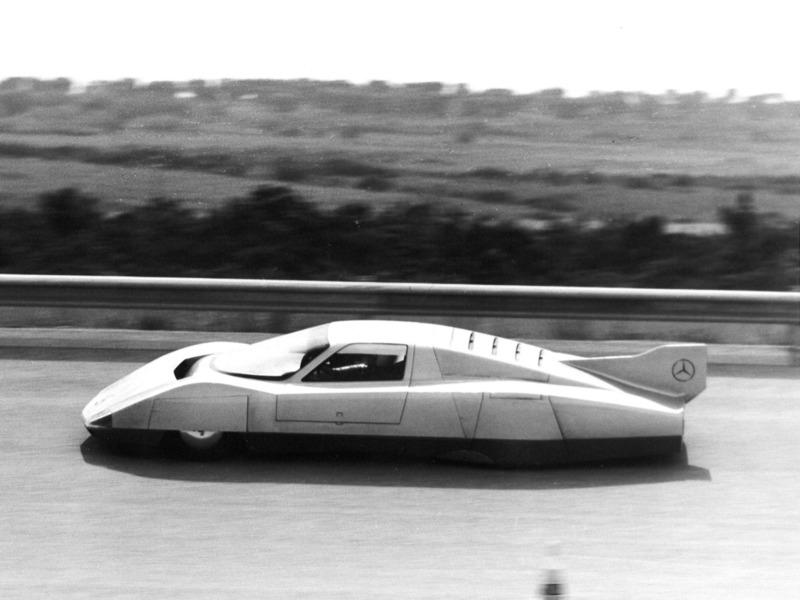 (CONCEITO): Mercedes-Benz C111-III Diesel Concept 1978 02311010