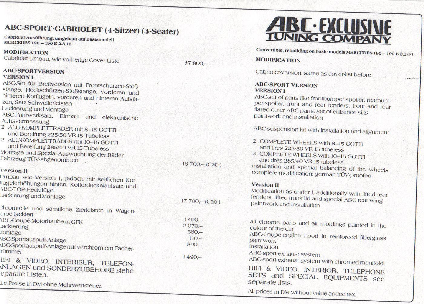 (W201): Catálogo ABC® 03ddd710