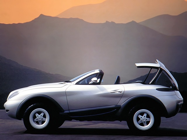 (CONCEITO): Mercedes-Benz Heuliez Intruder Concept 1996 069bed10