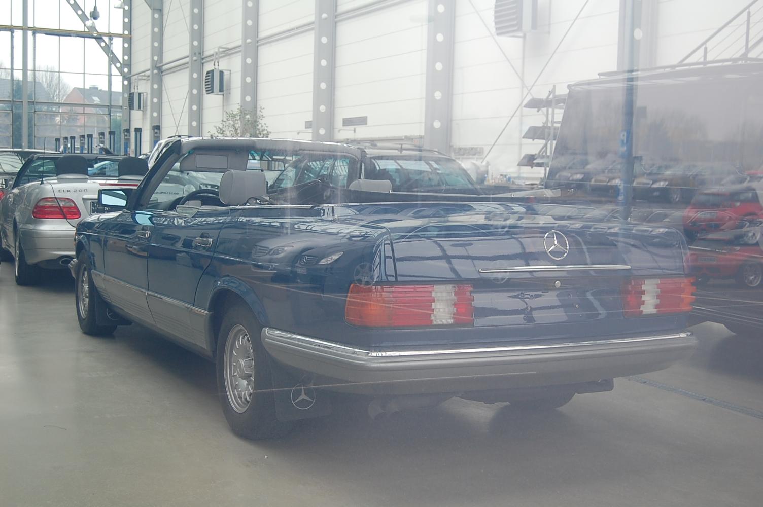 (W126): Caruna® - 380SEL 1984 conversível  08f31210