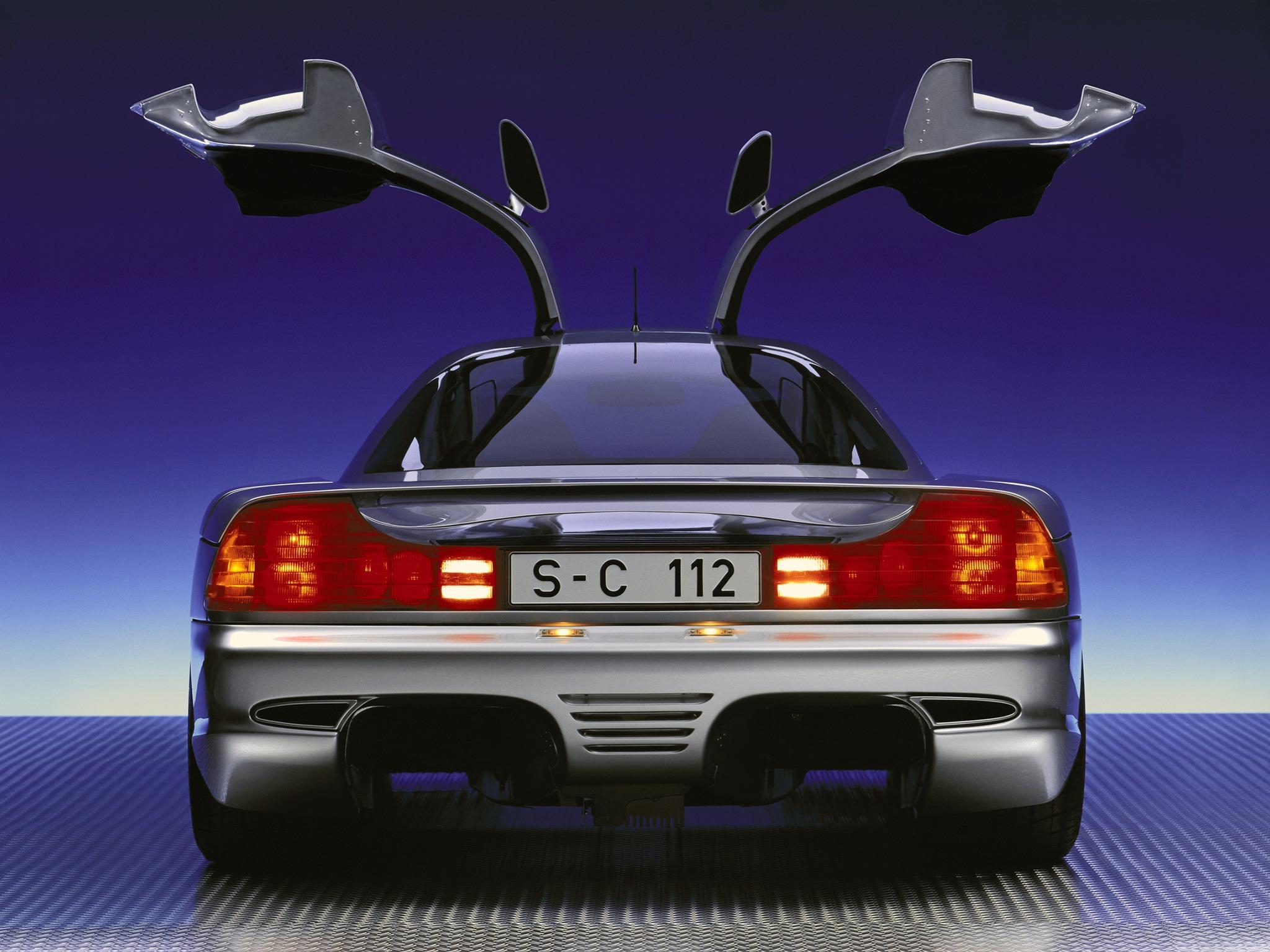 (CONCEITO): Mercedes-Benz C112 Concept 1991 0fa54c10