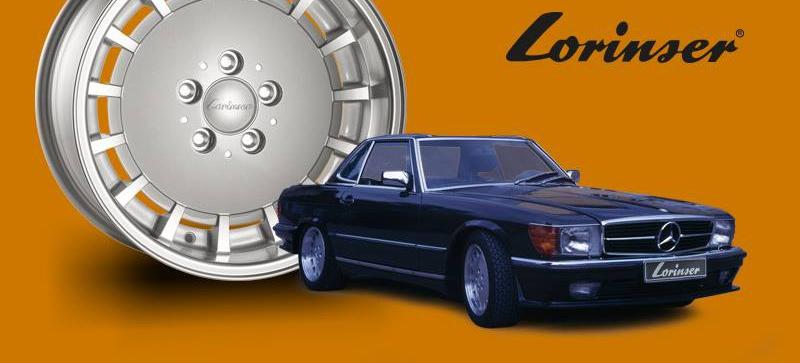 "(PEÇAS NO EXTERIOR): Lorinser® relança a famosa roda LO aro 16"" 0fb8d110"