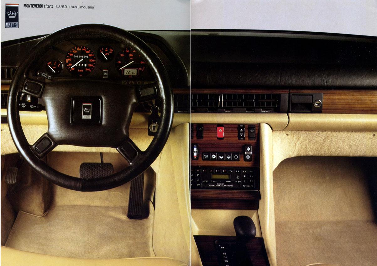 (W126): A versão Monteverdi Tiara da montadora suiça Monteverdi® 135cb910