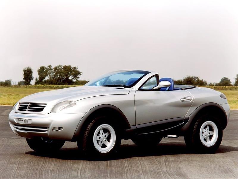 (CONCEITO): Mercedes-Benz Heuliez Intruder Concept 1996 14283310