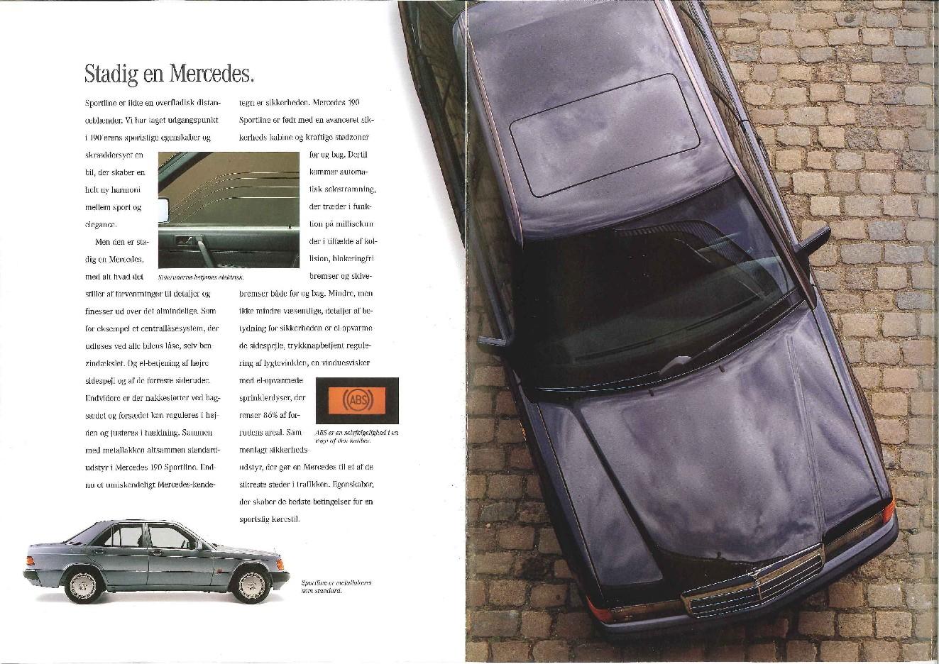 (W201): Catálogo Sportline para o mercado dinamarquês  149ad710