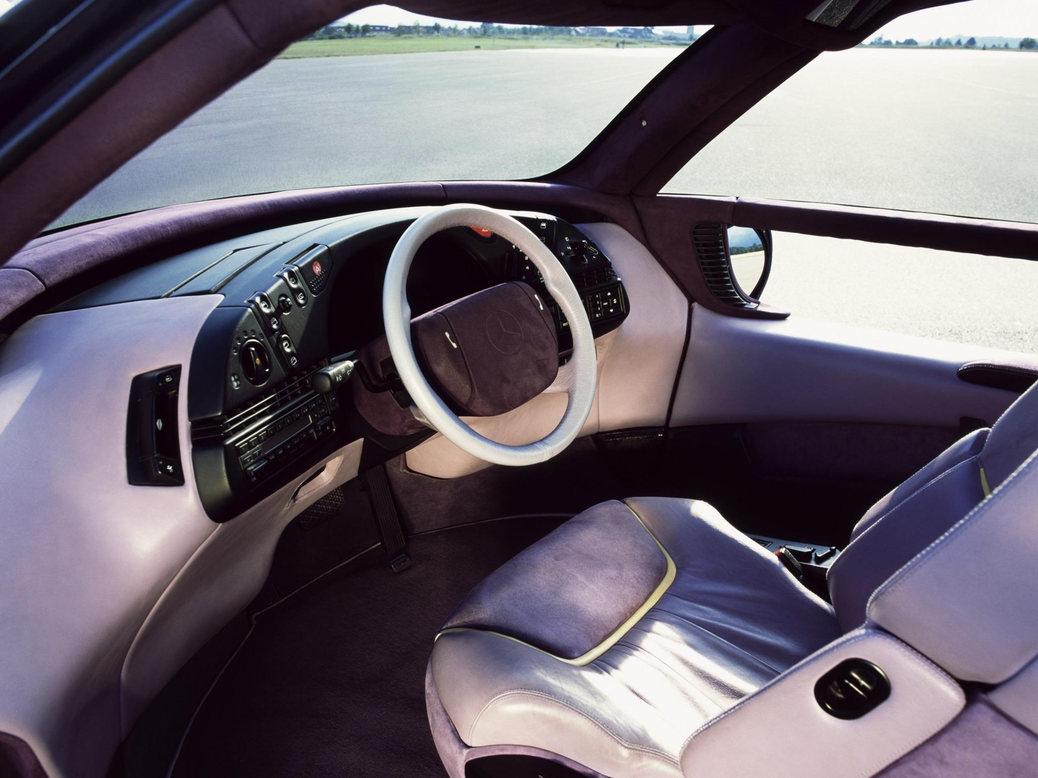 Curiosidade: Mercedes F100, um carro-conceito esquecido 14ea6310
